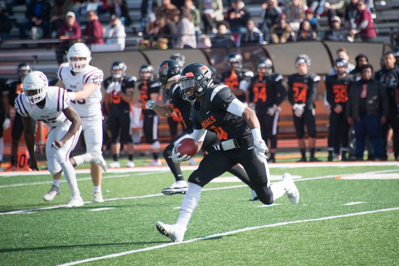 Homecoming football game vs. Union College at SUNY Buffalo State College.