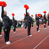 Cheerleaders at Homecoming football game vs. Union College at SUNY Buffalo State College.