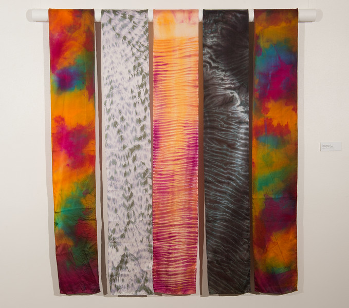 Fiber design student work  by Emily Beresford at Buffalo State College.