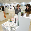 Annual Student Art Sale in the Czurles-Nelson Gallery at Buffalo State College.