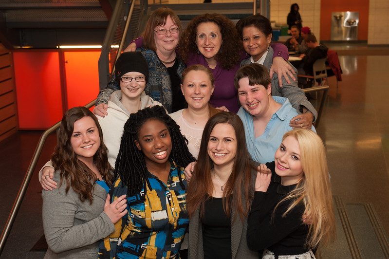 Women in Computing Club at SUNY Buffalo State.