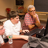 """""""A 21st Century Approach to Understanding the Holocaust"""" presentation during day-three of the Anne Frank Project at SUNY Buffalo State."""