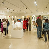 Design Student Show and awards ceremony in the Czurles-Nelson Gallery at SUNY Buffalo State.