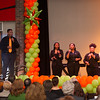 Spirit Gospel Choir performing at the Transforming Lives Campaign closing ceremony celebration at Buffalo State College.