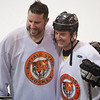 Alumni hockey game at SUNY Buffalo State.