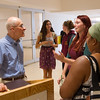 """I am Poor, I am Hungry"" artist talk by James A. Allen during day-two of the Anne Frank Project at SUNY Buffalo State."