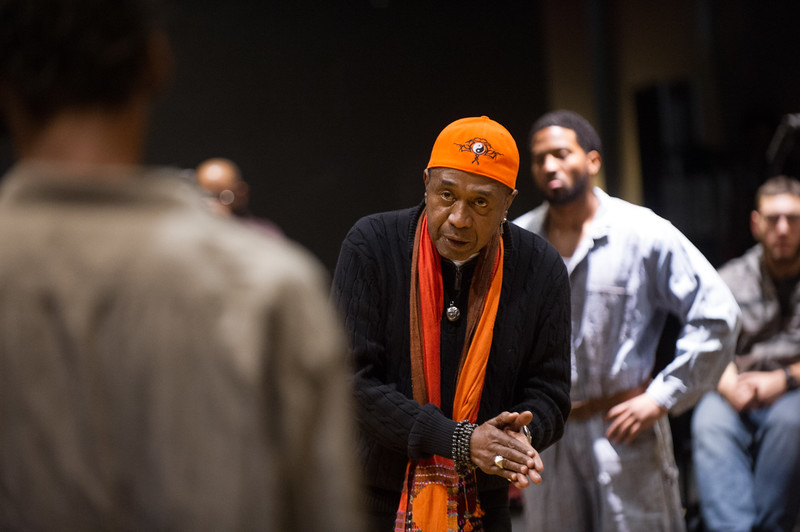 Theater master class with Ben Vereen at SUNY Buffalo State.