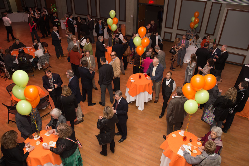 Transforming Lives Campaign closing ceremony celebration at Buffalo State College.