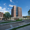 Tower 1 residence hall renovations at SUNY Buffalo State.