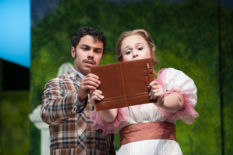 """Student theater production of """"The Importance of Being Earnest"""" at SUNY Buffalo State."""