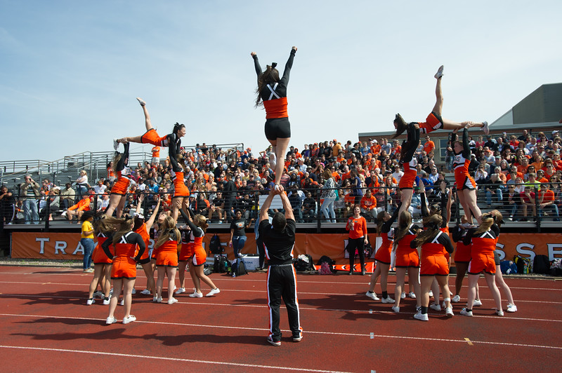 SUNY Buffalo State Homecoming football game vs. Alfred University.