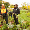 Students, faculty and staff participating in Buffalo State Community Service Day as part of President Katherine Conway-Turner's Inauguration activities.