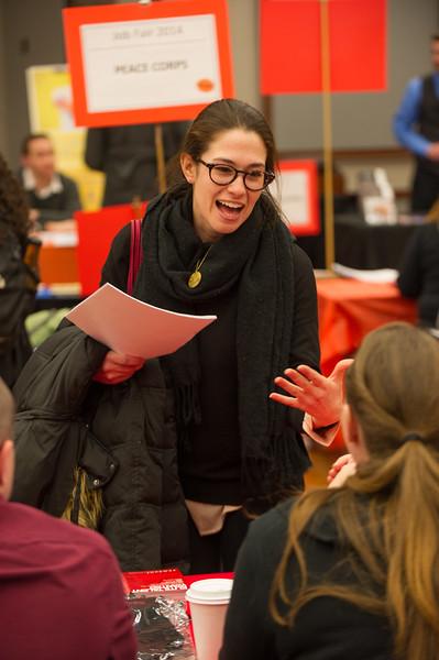 Career Development Center Job Fair at SUNY Buffalo State.