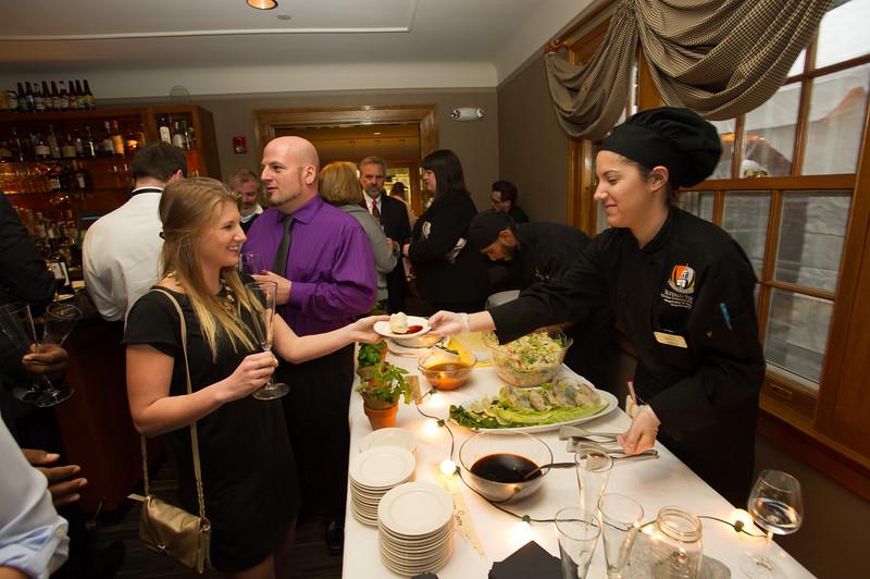 Hospitality and Tourism Ambassador Awards ceremony and reception at SUNY Buffalo State.