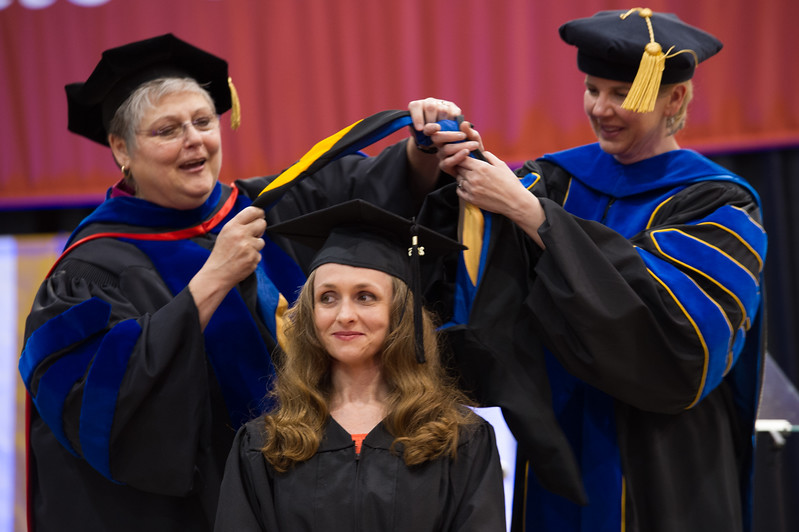 Graduate Commencement at SUNY Buffalo State.