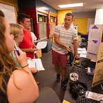 Physics 622 student poster presentations and demonstrations.