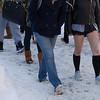 Winter campus scene at SUNY Buffalo State.