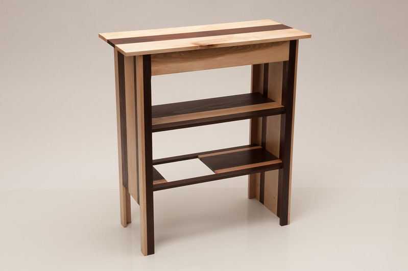 Emily Beresford's table  from Sunhwa Kim's Wood Design class at SUNY Buffalo State.