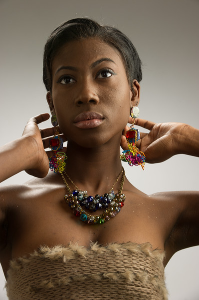 Jewelry by Metals and Jewelry Design student Keziah Israel.