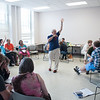 Creative Studies workshop at Buffalo State.