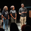 """In My Backyard"" teen theater presentation during day-three of the Anne Frank Project at SUNY Buffalo State."