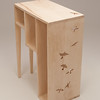 Student work from Sunhwa Kim's Wood Design course.