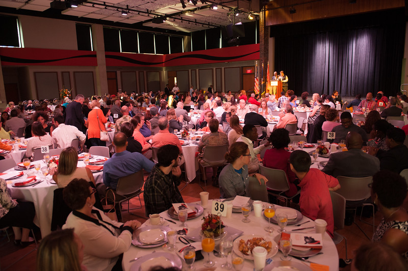 First annual scholar-donor breakfast at SUNY Buffalo State.