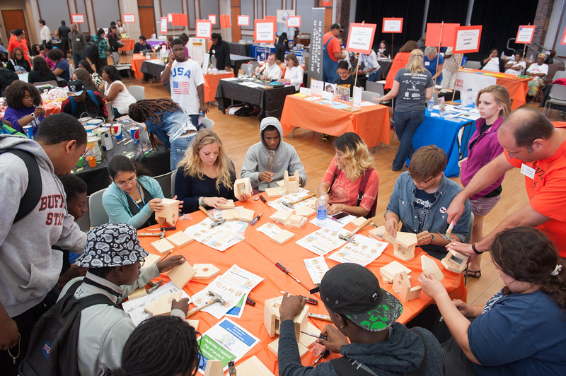 Volunteer Fair and September 11 National Day of Service at SUNY Buffalo State.