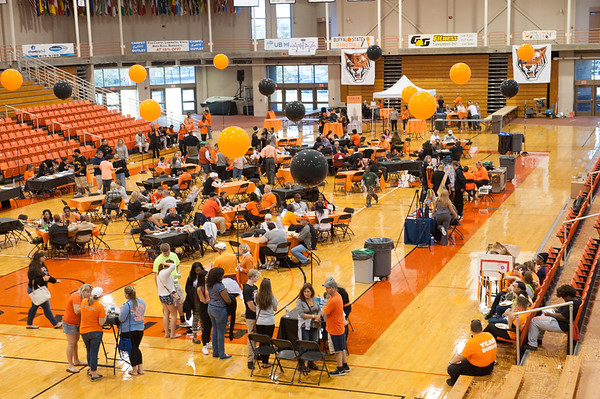 Homecoming Tailgate Party at SUNY Buffalo State.