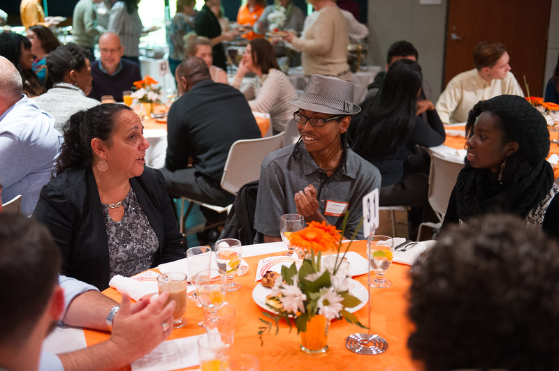Second annual Scholar and Donor Breakfast at SUNY Buffalo State.