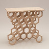 Pamela Pena's table  from Sunhwa Kim's Wood Design class at SUNY Buffalo State.