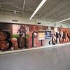 Main lobby in newly renovated Houston Gym at SUNY Buffalo State.