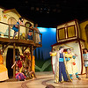 "Student theater production of ""A Funny Thing Happened on the Way to the Forum"" at SUNY Buffalo State."