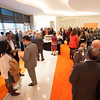 Faculty and staff open house for President Katherine Conway-Turner.