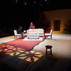 """Student theater production of """"The Motherf**ker with the Hat"""" at Buffalo State College."""