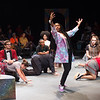 """Performance of """"The Space Between"""" during  the Anne Frank Project Social Justice Festival at Buffalo State College."""