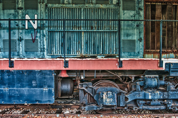 Gold Train Museum, HDR