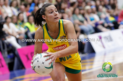 2014 Aust Diamonds V England Test Series