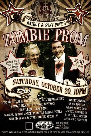 93.3 FLZ RatBoy & StayPuff's ZOMBIE PROM (October 20, 2012)