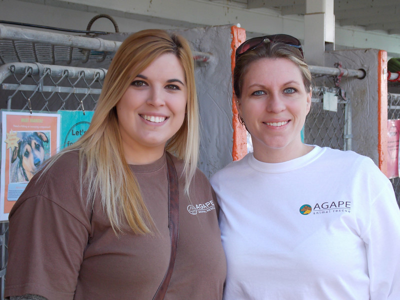 """AmPA - Tour of Cat Facility - Monday - 2/25/13 - Pam Lawrence<br /> <br /> Kellie Force & Tanya Willis<br /> Agape Rescue - Tennessee<br />  <a href=""""http://www.agaperescue.org"""">http://www.agaperescue.org</a>"""