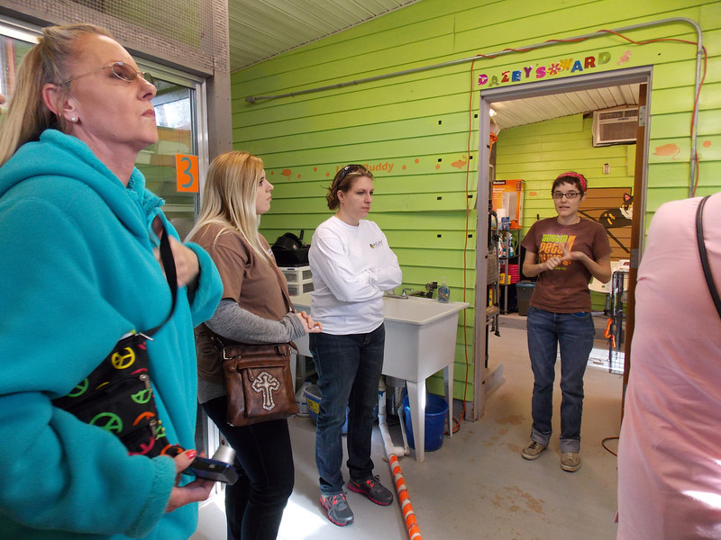 AmPA - Tour of Cat Facility - Monday - 2/25/13 - Pam Lawrence