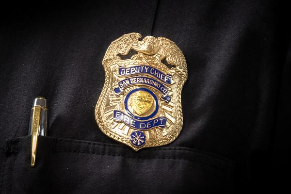 Deputy Chief John Chamberlin Pinned