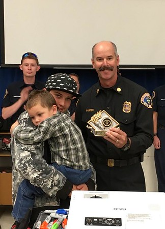 Recognition Ceremony for Trona Father