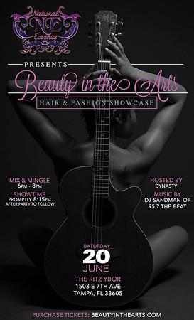 Beauty in the Arts Hair + Fashion Showcase