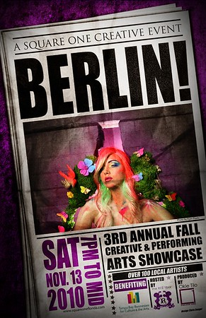 Berlin! Photography: Ryan Prado Art Design: Chris Zenger