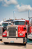 Big Rigs Big Hearts 2018 truck rally fund raising event in Winkler, Manitoba, Canada.