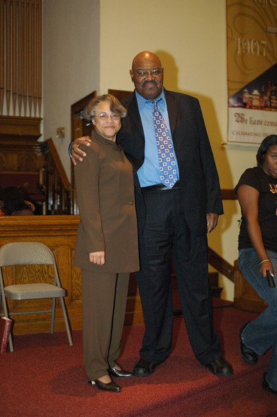 Pastor & Mrs. Stafford