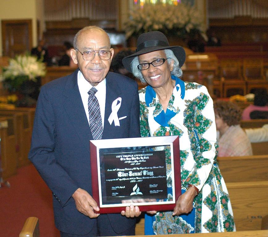 Pastor & Mrs. Flagg