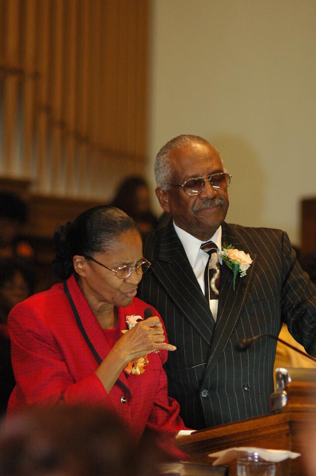 Pastor & Mrs. Rock
