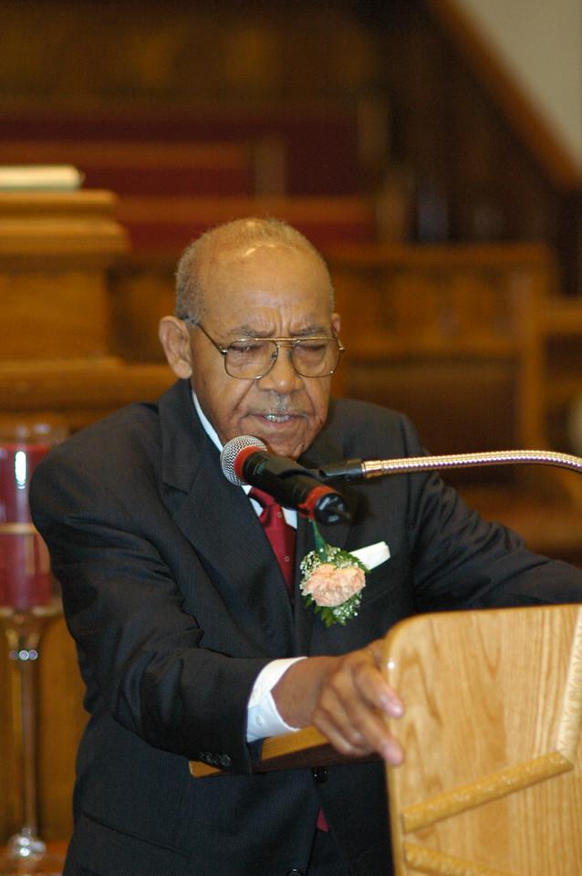 Pastor Samuel L. Flagg